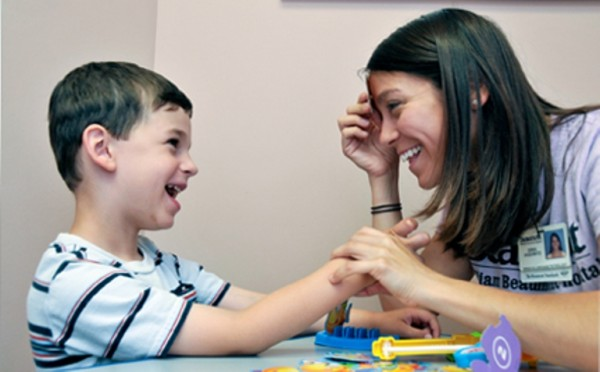 how to develop speech in autistic child