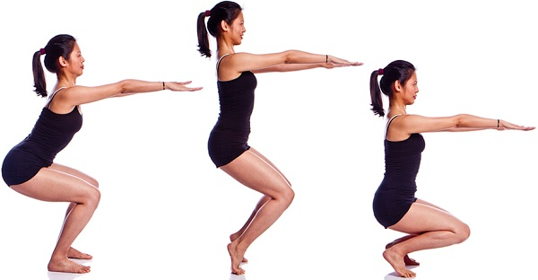 Among all the bikram yoga positions utkatasana is one of the most