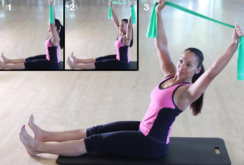 pilates moves at home