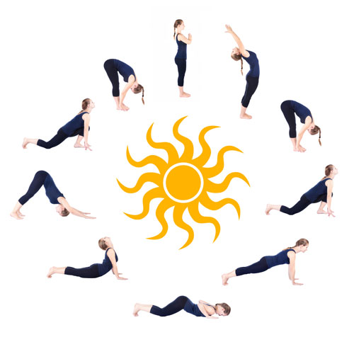 ... of 16 power yoga poses that help activate all the muscle groups